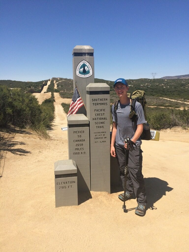 Pacific Crest Trail, Southern Terminus, Mexico, Noel Nelson